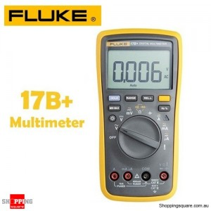 Fluke 17B+ Auto Range Multimeter for Voltage Resistance Current with Backlight