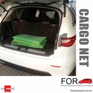 Elastic Car Trunk Rear Cargo Net Mesh Organizer Pouch for Storage with Hooks