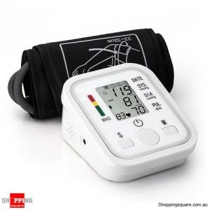 Automatic Digital Uper Arm Blood Pressure Monitor Sphgmomanometer Meter with Cuff