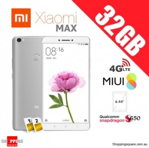 Xiaomi Mi Max 32GB Dual SIM Unlocked Smart Phone Gray