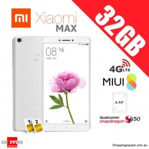 Xiaomi Mi Max 32GB Dual SIM Unlocked Smart Phone Silver