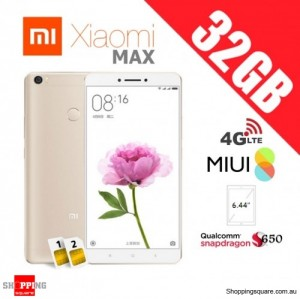 Xiaomi Mi Max 32GB Dual SIM Unlocked Smart Phone Gold