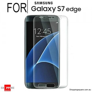 Full Curved 3D HD Tempered Glass Screen Protector For Samsung Galaxy S7 Edge transparent Colour