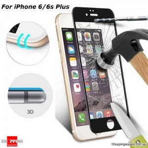 0.33mm 3D Curve Edge 9H Tempered Glass Screen Protector Full Cover For iPhone 6 Plus/6S Plus