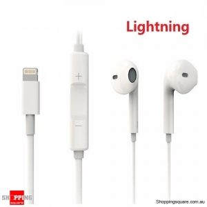 8Pin Wired Digital Earphone with Volume Control for iPhone SE 5 6 6S Plus