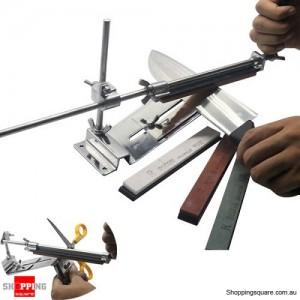 Professional Kitchen Sharpening Sharpener Tools Set for Scissor Knife Blade with 4 Stones