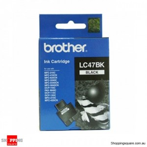 Brother ink cartridge LC 47 black