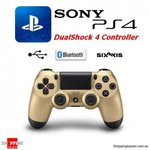 GENUINE Sony PlayStation 4 DualShock®4 Wireless Controller PS4 Gold