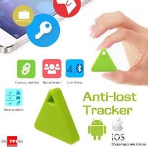 Multifunctional Anti-Lost Bluetooth Smart GPS Tracker Tag Locator Finder for Child Pet Wallet Key Green Colour