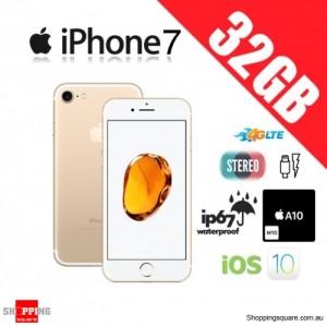 Apple iPhone 7 32GB 4G LTE Unlocked Smart Phone Gold