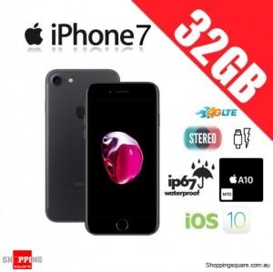 Apple iPhone 7 32GB 4G LTE Unlocked Smart Phone Black