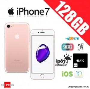 Apple iPhone 7 128GB 4G LTE Unlocked Smart Phone Rose Gold