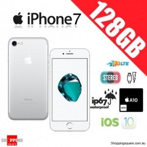 Apple iPhone 7 128GB 4G LTE Unlocked Smart Phone Silver