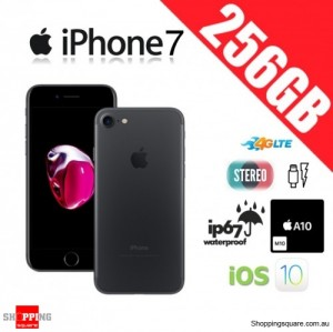 Apple iPhone 7 256GB 4G LTE Unlocked Smart Phone Black