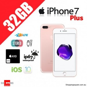 Apple iPhone 7 Plus 32GB 4G LTE Unlocked Smart Phone Rose Gold