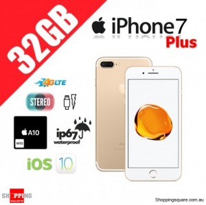 Apple iPhone 7 Plus 32GB 4G LTE Unlocked Smart Phone Gold