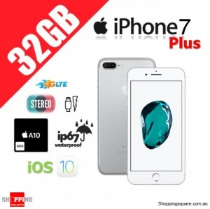Apple iPhone 7 Plus 32GB 4G LTE Unlocked Smart Phone Silver