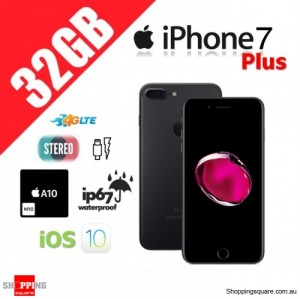 Apple iPhone 7 Plus 32GB 4G LTE Unlocked Smart Phone Black