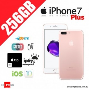 Apple iPhone 7 Plus 256GB 4G LTE Unlocked Smart Phone Rose Gold