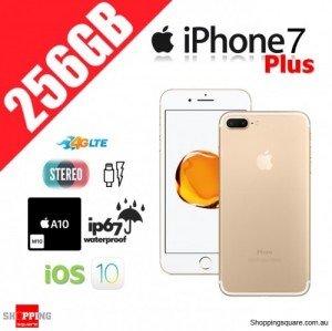 Apple iPhone 7 Plus 256GB 4G LTE Unlocked Smart Phone Gold