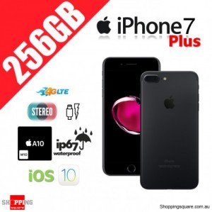 Apple iPhone 7 Plus 256GB 4G LTE Unlocked Smart Phone Black