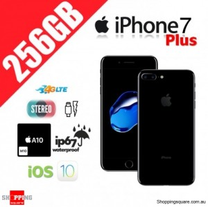 Apple iPhone 7 Plus 256GB 4G LTE Unlocked Smart Phone Jet Black