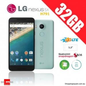 LG Nexus 5X H791 4G 32GB Unlocked Smartphone Blue