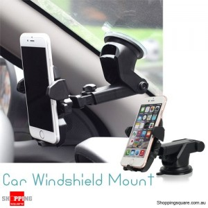 Universal Car Windshield Mount Holder Cradle for iPhone Samsung