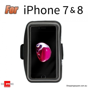 Sports Running Armband Case for iPhone 7 Black Colour