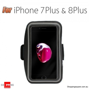 Sports Running Armband Case for iPhone 7 Plus Black Colour