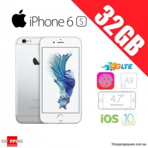 Apple iPhone 6s 32GB 4G LTE Unlocked Smart Phone Silver