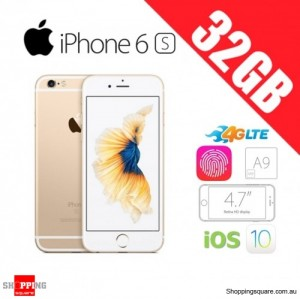 Apple iPhone 6s 32GB 4G LTE Unlocked Smart Phone Gold