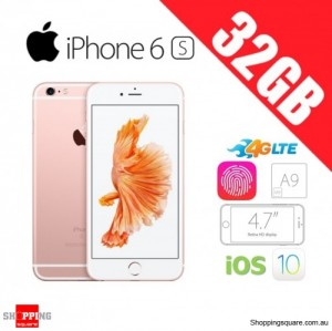 Apple iPhone 6s 32GB 4G LTE Unlocked Smart Phone Rose Gold