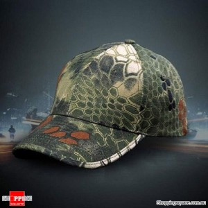 Men's Army Military Patrol Canvas Adjustable Hat Baseball Cap Jungle Camouflage