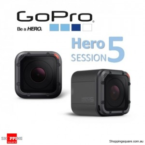 GoPro Hero5 Session 4K Ultra HD Waterproof WiFi Action Camera Black
