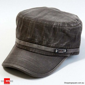New Summer Women Men Classic Army Solid Hat Cotton Cap Army Green Colour
