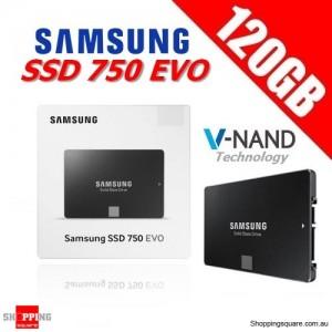 Samsung 750 EVO 120GB 2.5 inch SSD SATA III 6GB/s Solid State Drive
