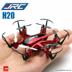 JJRC H20 Nano Hexacopter Quadcopter 2.4G 4CH 6Axis Headless Mode RTF Left Hand Throttle Red Colour