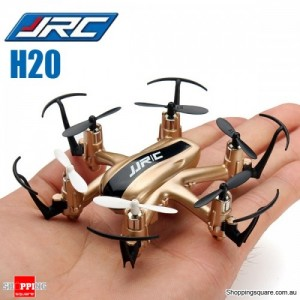 JJRC H20 Nano Hexacopter Quadcopter 2.4G 4CH 6Axis Headless Mode RTF Left Hand Throttle Gold Colour