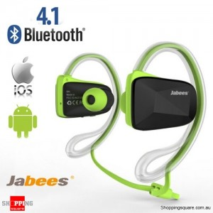 Waterproof Bluetooth Wireless Swimming Sports Headsets Stereo Headphone Earphone Green Colour