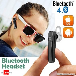 Wireless Bluetooth 4.0 Headphone Earphone Headset for IPhone 7 6s Plus Samsung Android Black Colour