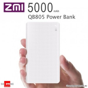 Xiaomi ZMI 5000mAh QB805 QC2.0 Slim Quick Charge Power Bank for iPhone Android Samsung