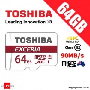 Toshiba Exceria 64GB microSD microSDXC Memory Card 90MB/s