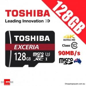 Toshiba Exceria 128GB microSD microSDXC Memory Card 90MB/s