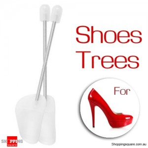 1 Pair of Plastic Womens Shoes Spring Tree Support Stretcher for Shape Maintain
