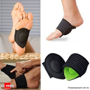 Foot Arch Support Heel Pain Relief Plantar Fasciitis Fallen Arches Pain Aid