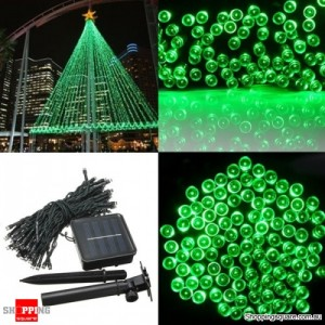 200 LED Solar Powered Fairy Light String for Garden Party Wedding Xmas Decor Green Colour