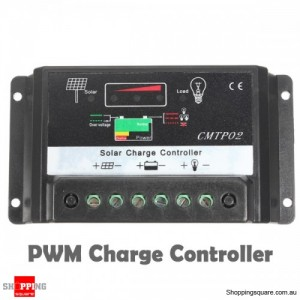 PWM 12V 24V 30A Solar Lighting Panel Electrical Battery Charge Regulator Controller CE