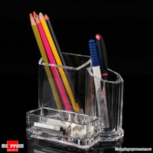Acrylic Makeup Cosmetics Organizer Holder Stand for Lipstick Brush Display