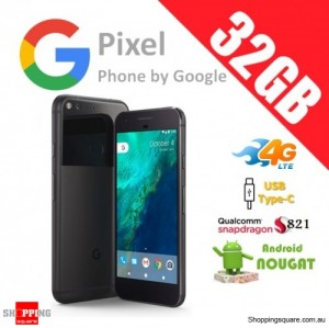 Google Pixel 32GB 4G LTE Unlocked Smart Phone Quite Black